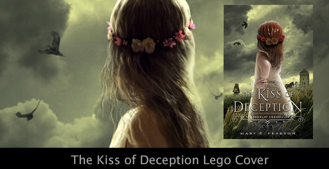 Lego Cover Art- The Kiss of Deception by Mary E. Pearson