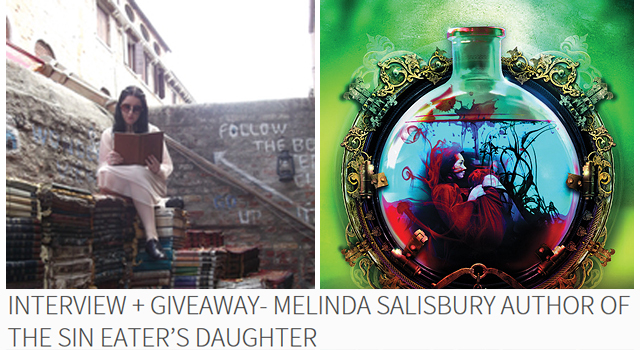 Interview + Giveaway- Melinda Salisbury Author of The Sin Eater's Daughter