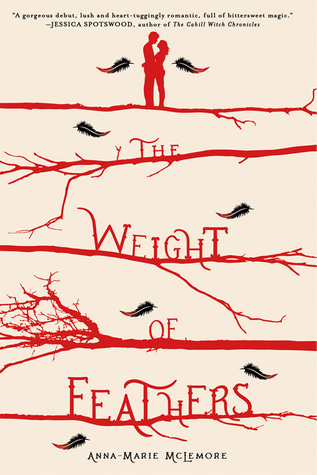 Review for The Weight of Feathers by Anna-Marie McLemore